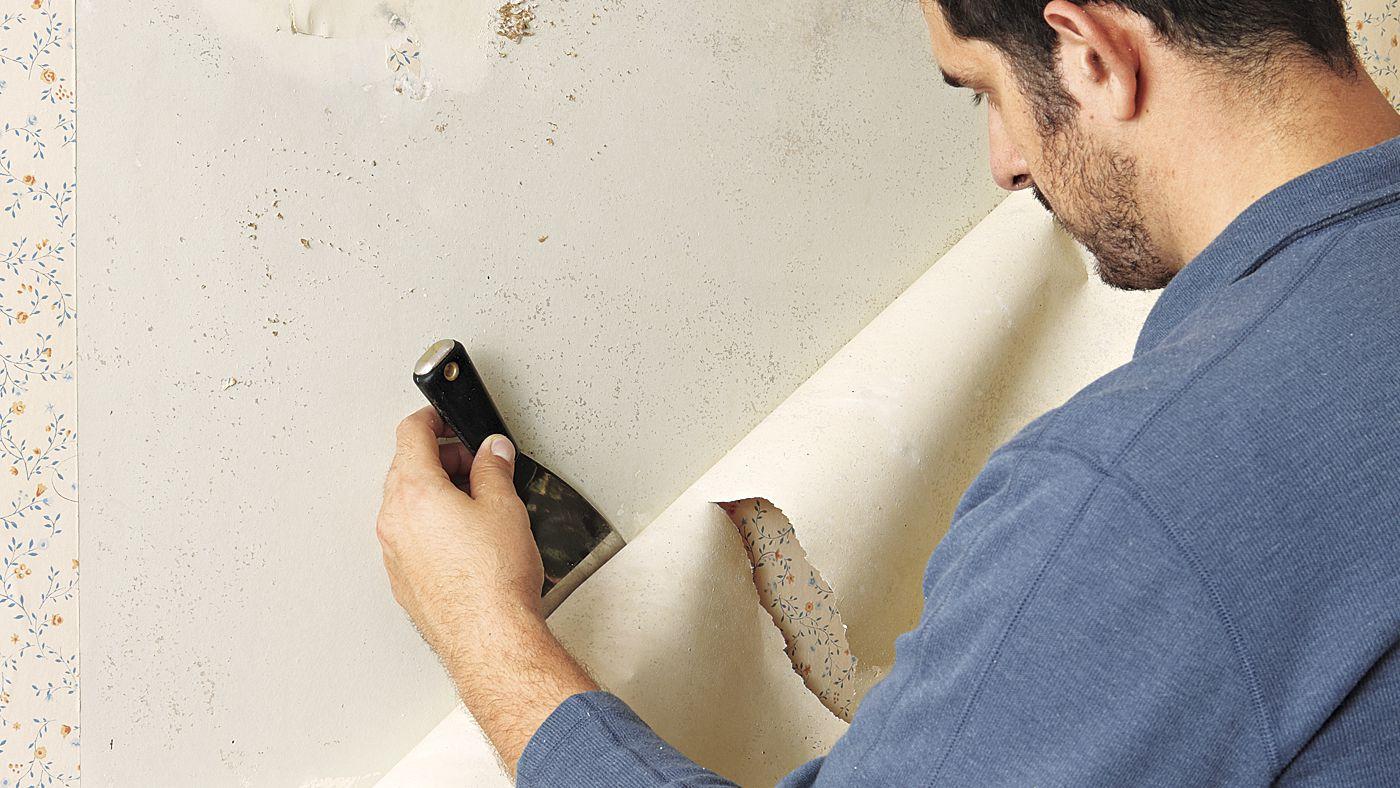 5 bước sơ bộ gỡ bỏ giấy dán tường