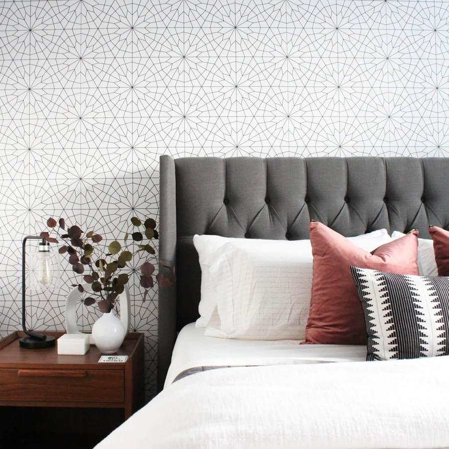 Cách chọn giấy dán tường phù hợp với phòng ngủ