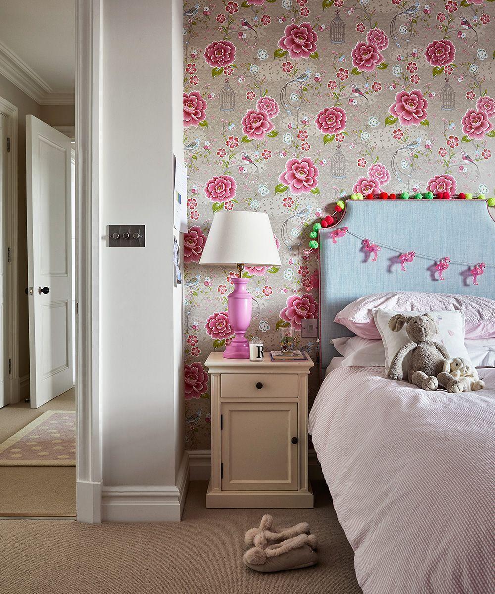 Bí quyết chọn giấy dán tường phòng ngủ cho bé