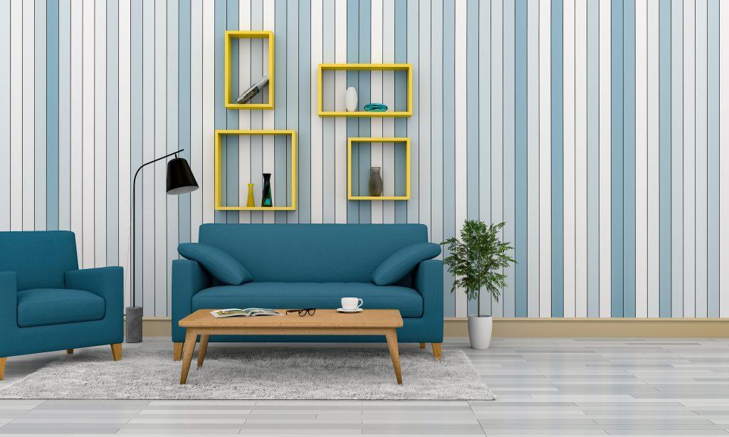 Những lưu ý quan trọng khi sử dụng nội thất giấy dán tường