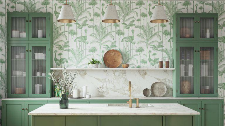 Bí quyết chọn tranh dán tường cho phòng bếp