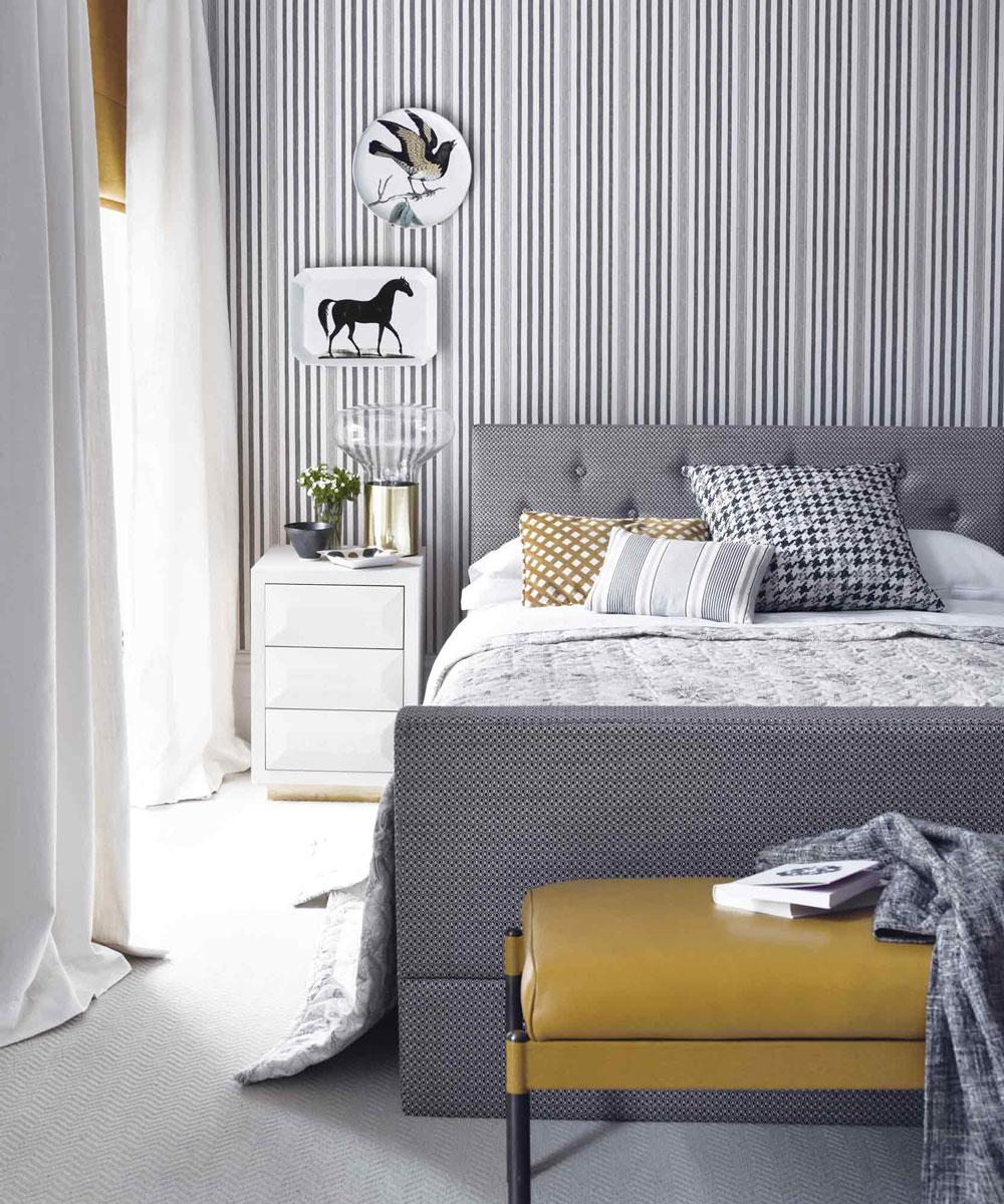 Cách chọn tranh dán tường cho phòng ngủ
